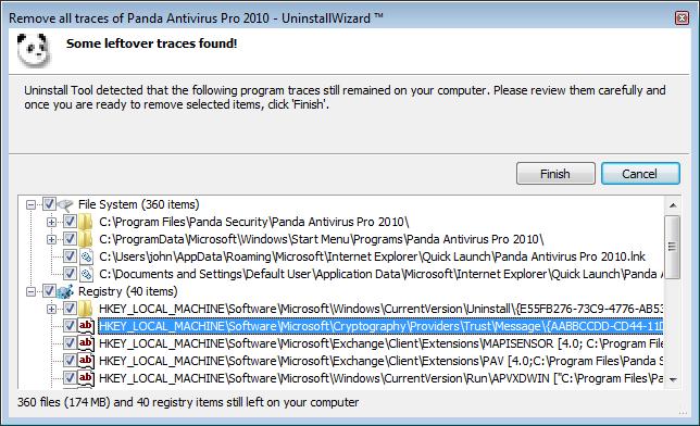 Panda Uninstall Tool. Инструкция по удалению Panda Platinum Internet Secur